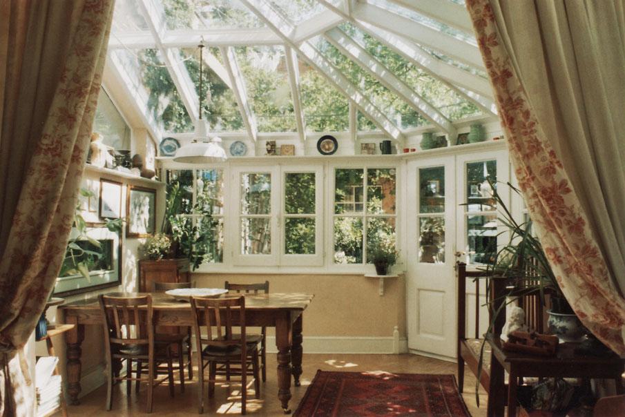 Giardini di inverno in stile inglese tommaso scacchi - Verande su terrazzi ...